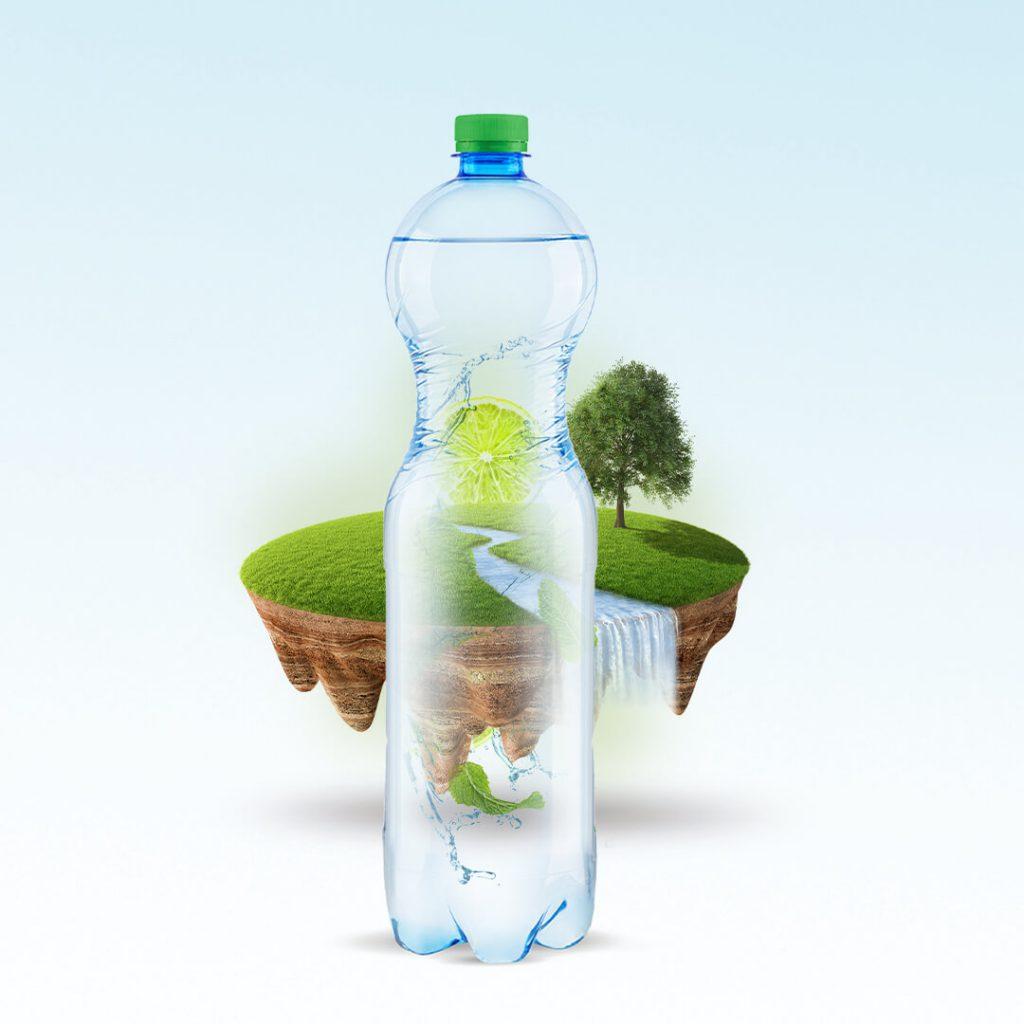 koncepcja wizualna woda smakowa
