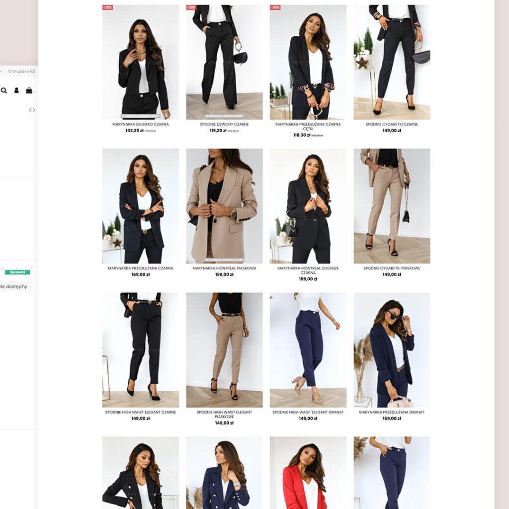 Sklep butik odzież damska Fancy Fashion