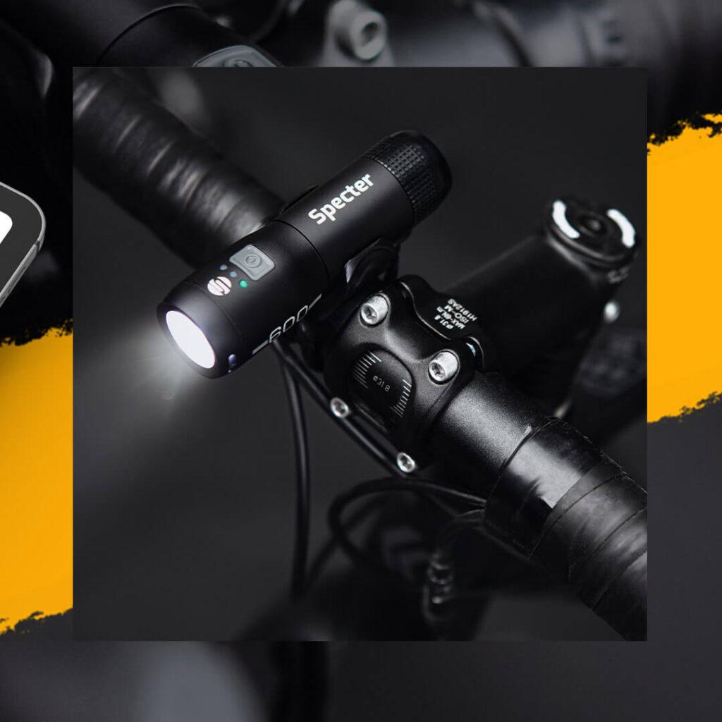 zdjęcia lampki rowerowe